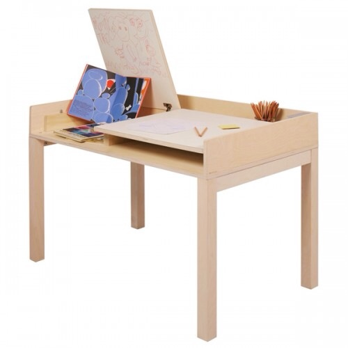 Nonjetable, escritorio practico para la habitación de los niños
