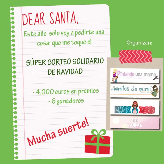 Sorteo Solidario de Navidad de 4 blogs amigos