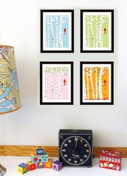 Cuadros para decorar la habitaci n de los ni os - Cuadros habitacion nino ...