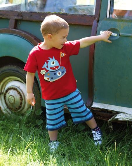 Ropa ecológica para niños primavera-verano en Koolbee.com