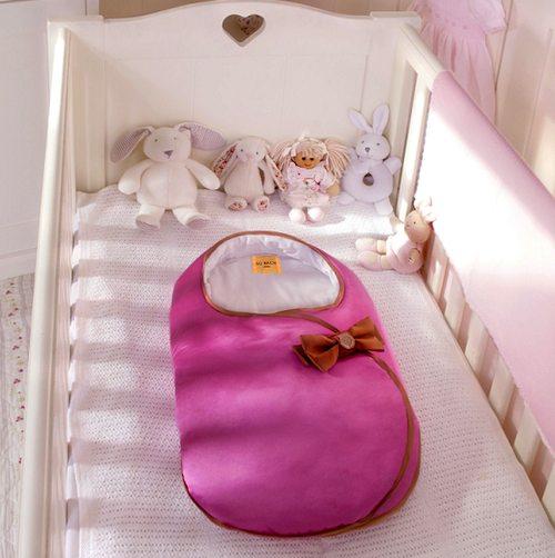 Baby cocoon, saquitos para bebé de Su Bach