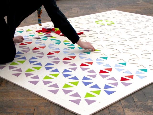 Alfombras puzle de lana para las habitaciones infantiles - Alfombras puzzle infantiles ...