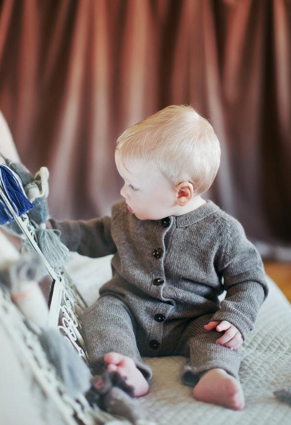 ropa de punto para bebe