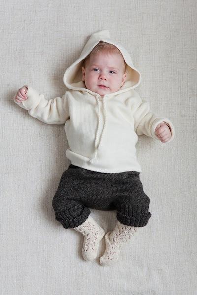 Ropa de punto para bebé