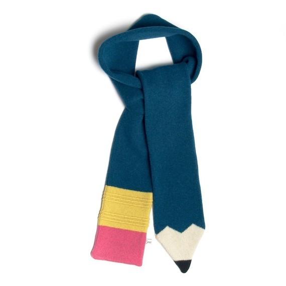 Bufandas de punto para niños