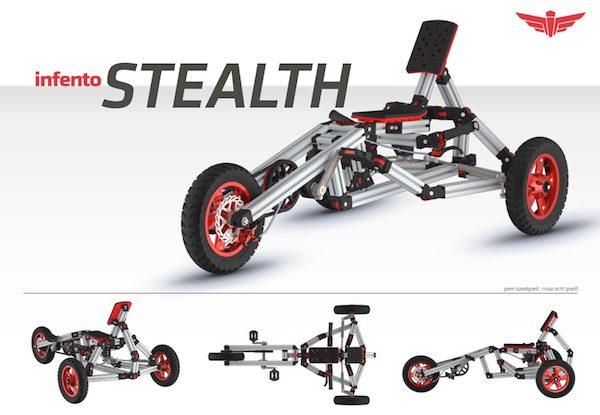 Construye tu propia bicicleta, triciclo, patinete… con Infento