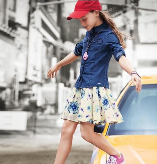 DKNY SS14 moda para adolescentes primavera-verano DKNY teen SS14 3