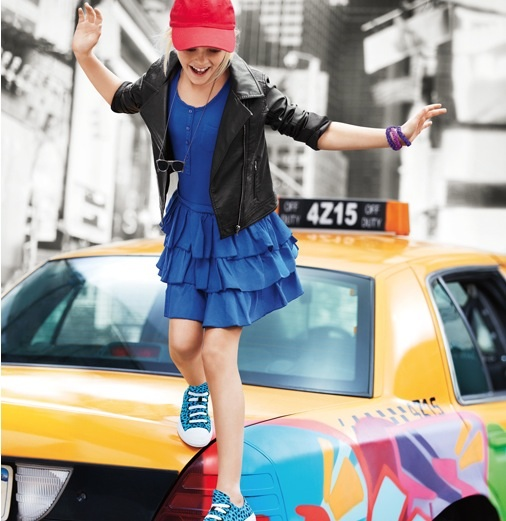 DKNY teen SS14 5