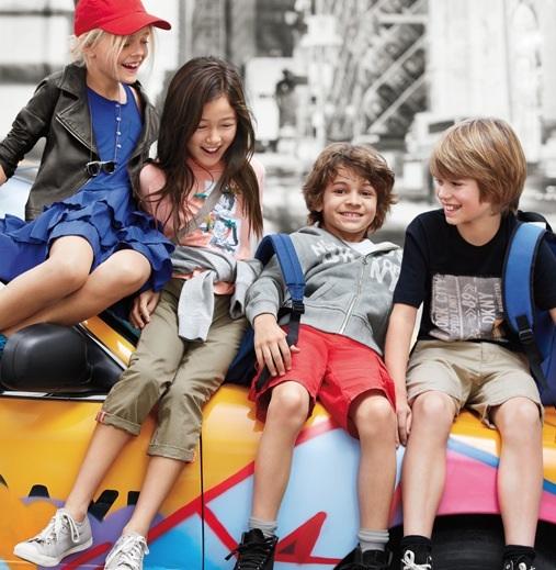 DKNY SS14 moda para adolescentes primavera-verano DKNY teen SS14