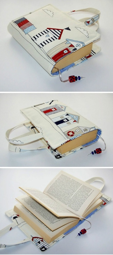 fundas de tela para libros