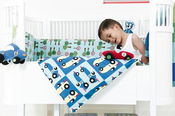 ropa de cama para niños sebra