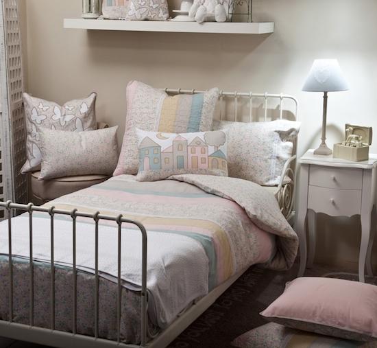 ropa de cama para niños textura