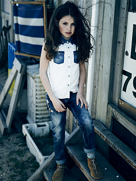 scotch and soda ss14 girls-denim-lookbook-4-portrait