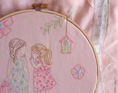 Bordados infantiles con encanto, patrones para descargar