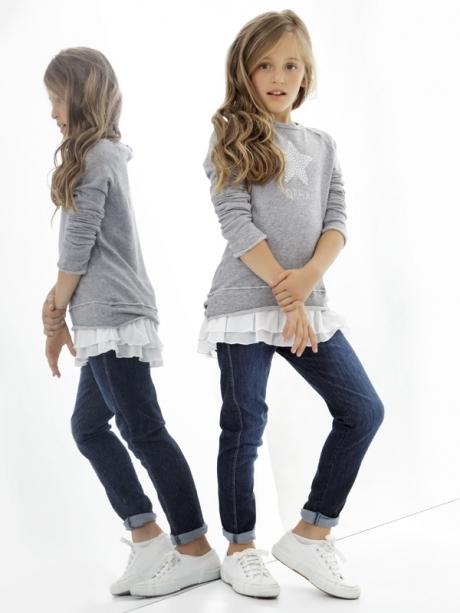 e4d7031ca Deha ropa informal con toque deportivo para niñas - Minimoda.es-Blog ...