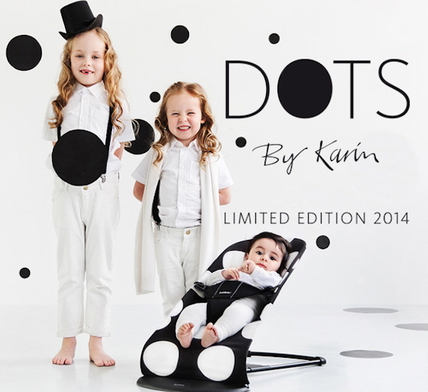 babybjörn dots limited edition