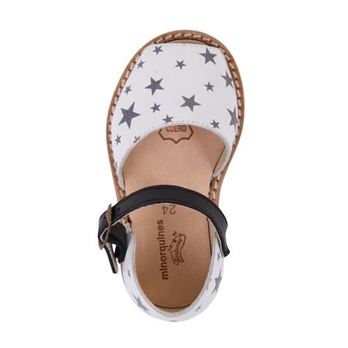 minorquines sandalias estrellas ss