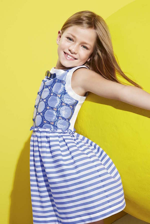 Vestidos para niñas de Simonetta simonetta fashion for girls summer