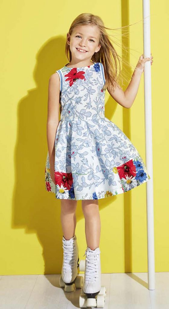 simonetta summer dress print