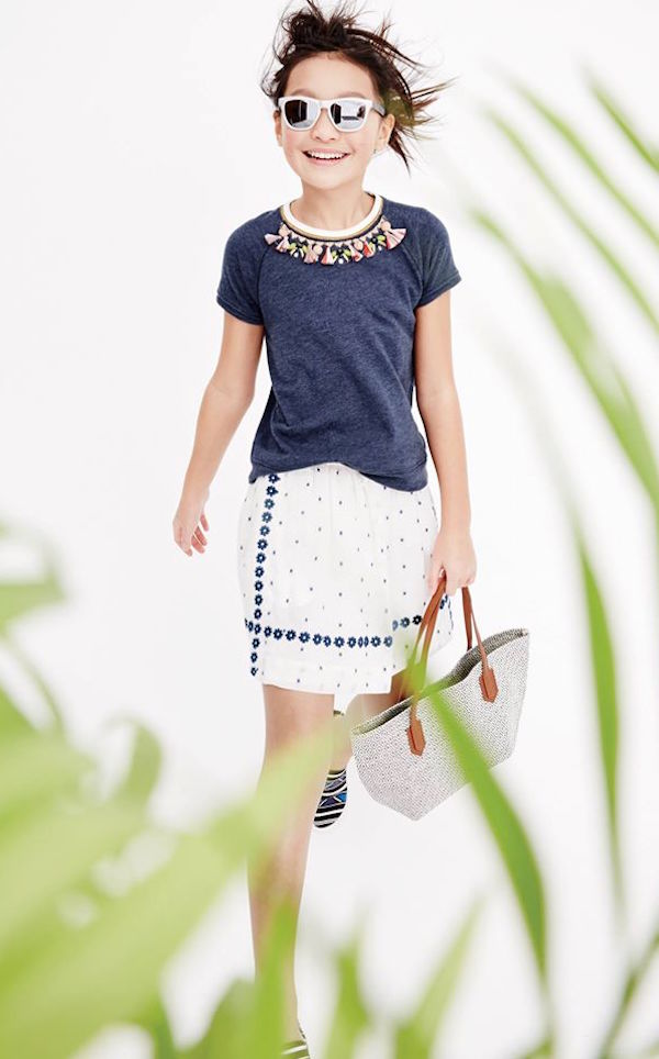 J. Crew girl fashion
