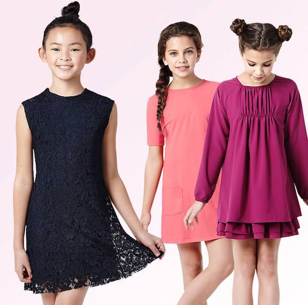 modelos de vestido para niña fiesta