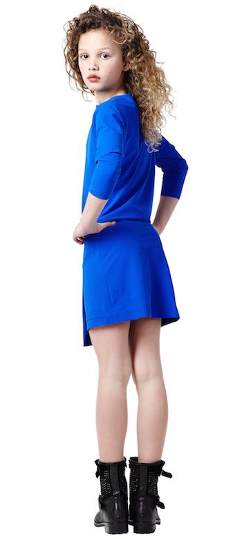 modelos de vestidos de niñas azul