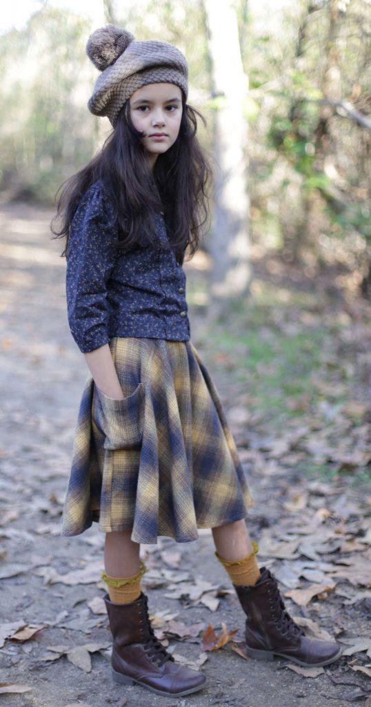bluponyvintage moda romantica para niñas