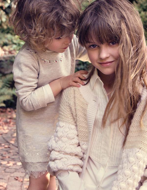 Twin set fashion for girls