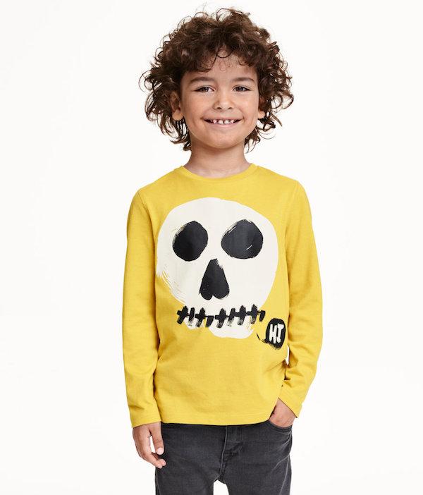 h&m disfraces halloween calavera