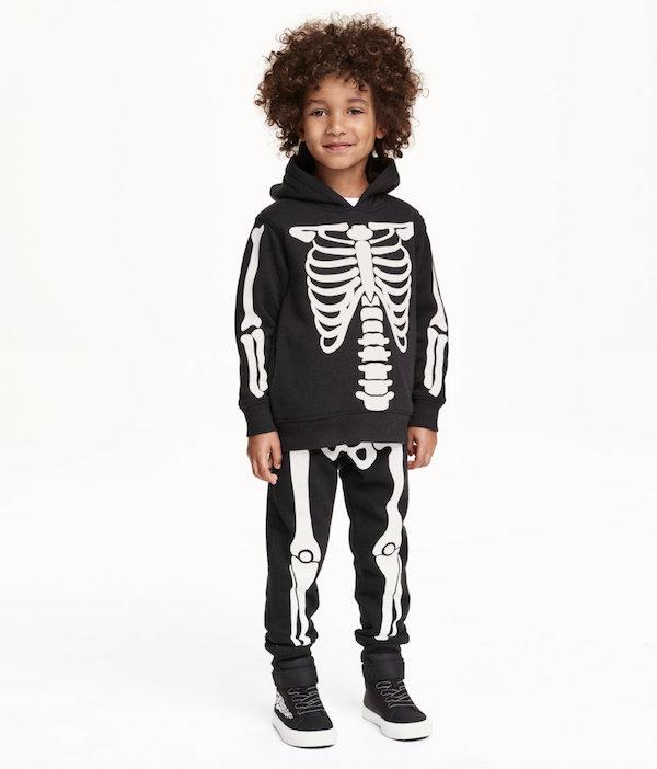 h&m disfraces halloween esqueleto