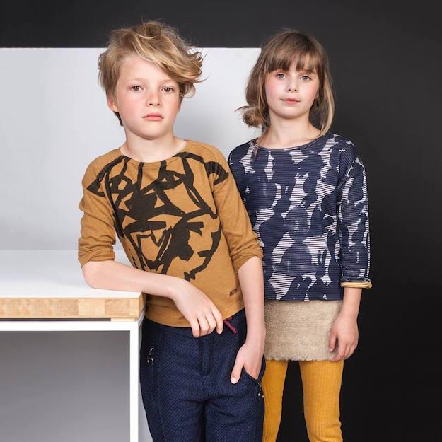 Moda belga para niños
