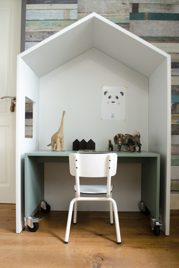 casita para la habitacion infantil