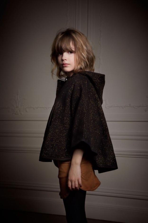 louis louise aw15 capa Louis Louise moda romántica para niños