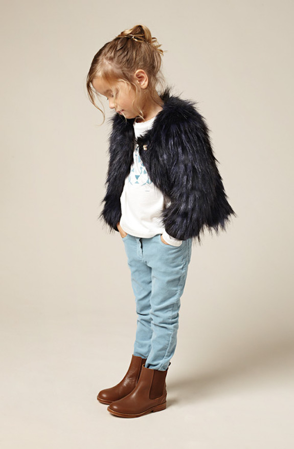 Chloé bonitos conjuntos de ropa para niñas 2