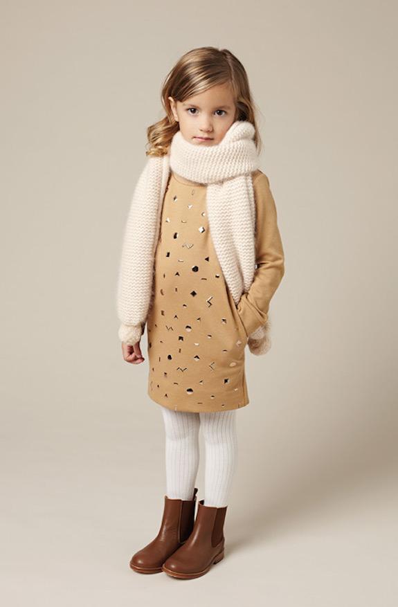 Chloé bonitos conjuntos de ropa para niñas 3
