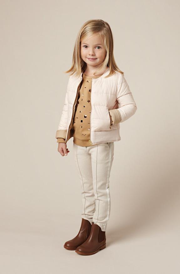 Chloé bonitos conjuntos de ropa para niñas 4