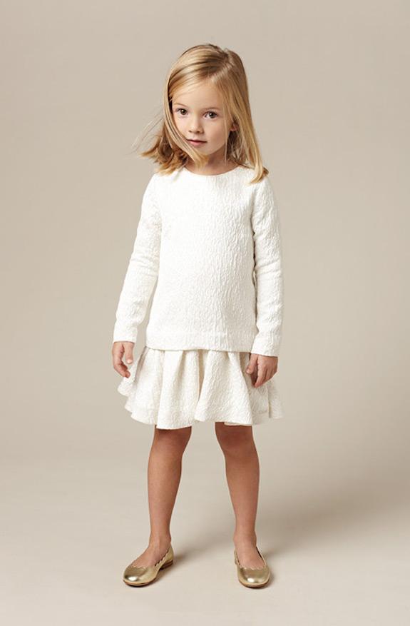 Chloé bonitos conjuntos de ropa para niñas 6