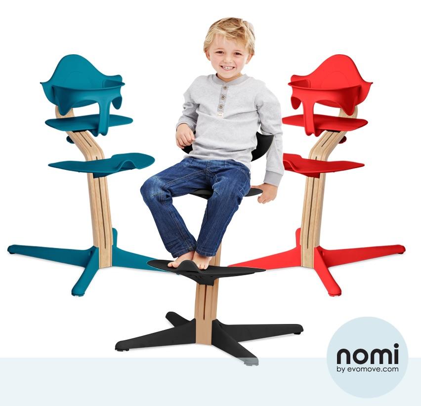 Nomi high chair evomove kopie