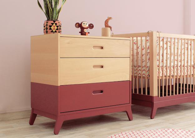 dresser-crib-horizon-indian-pink-oriantal-nobodinoz