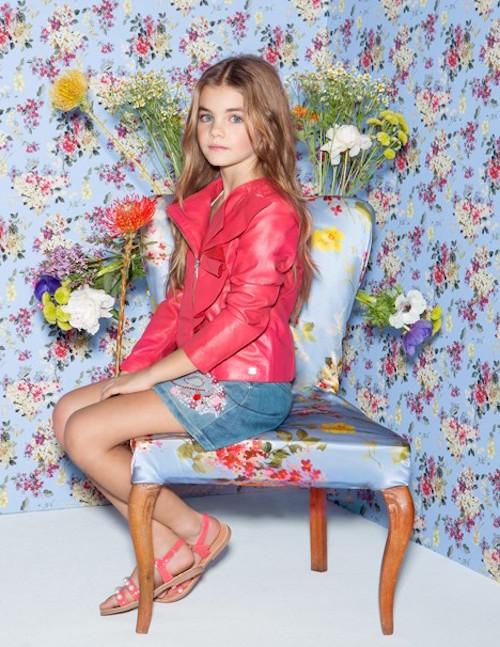Miss blumarine moda italiana para niñas