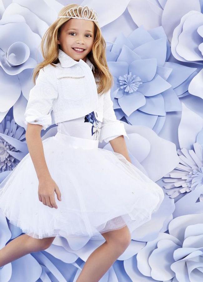 Vestidos de fiesta modernos para ninas