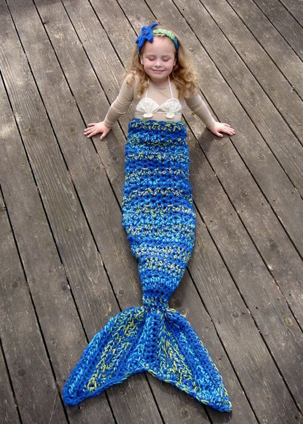 mermaid crochet by jennifer etsy