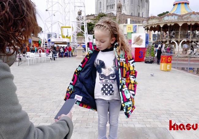 etiqueta inteligente para la ropa de los niños