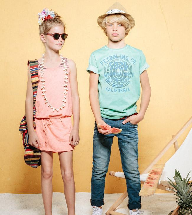 petrol moda niños