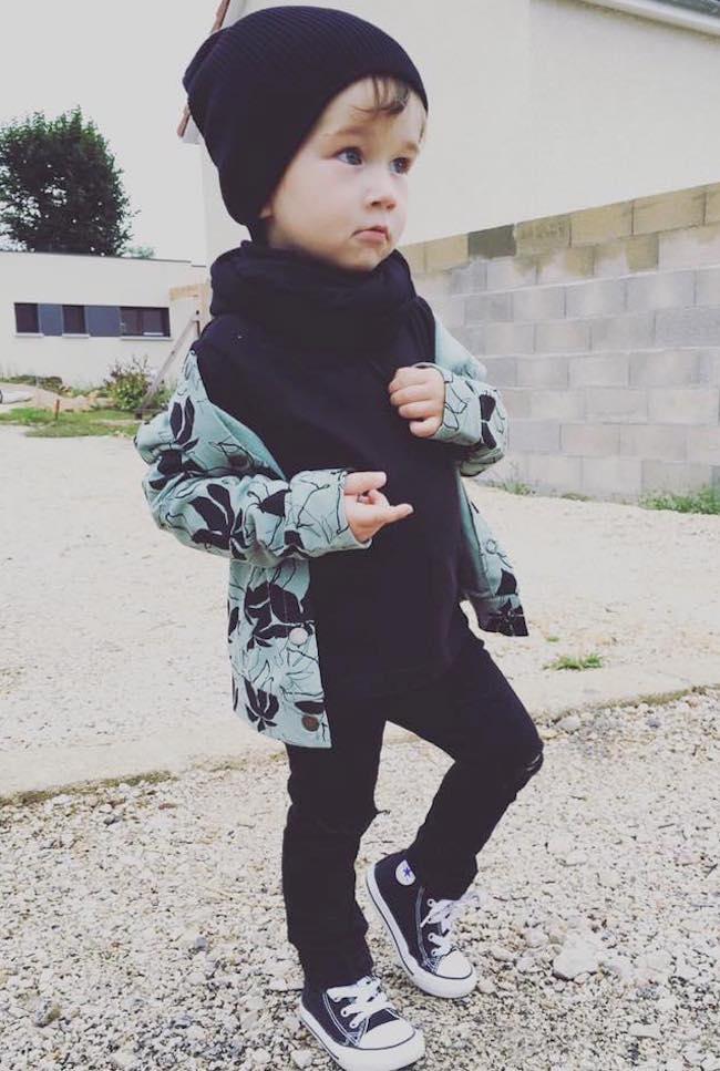Ropa moderna de bebe de la marca Eco Little Indians