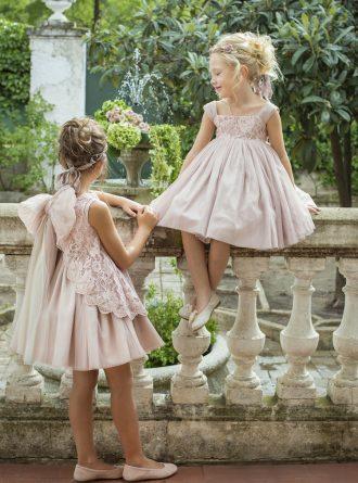 Vestidos de ceremonia romanticos