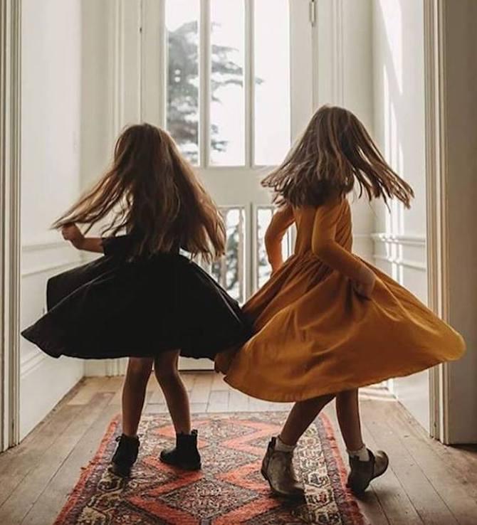 vestidos con vuelo para niñas