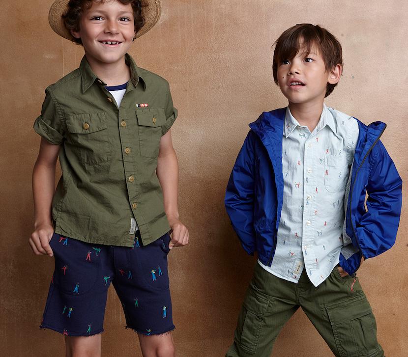 Moda belga para chicos