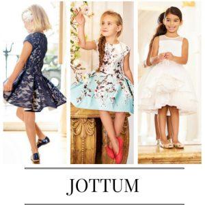 Vestidos para niñas de la marca Jottum