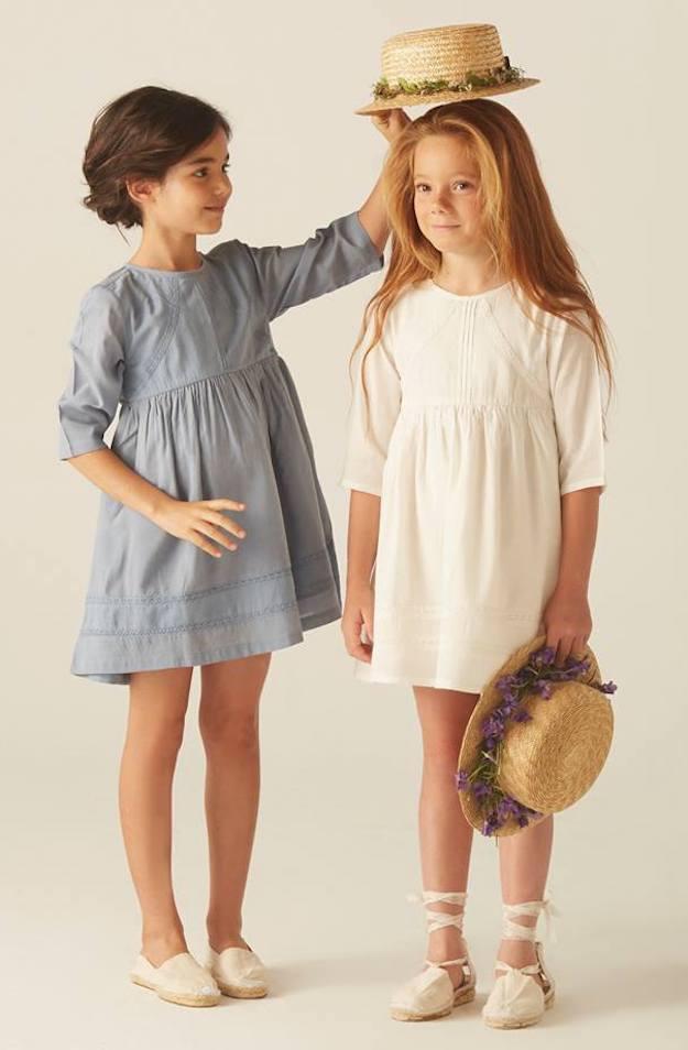vestidos para niñas Bonnet à Pompon
